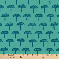 Kaufman Blueberry Park Trees Sage Fabric