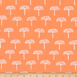 Kaufman Blueberry Park Foliage Mango Fabric
