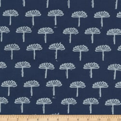 Kaufman Blueberry Park Foliage Storm Fabric