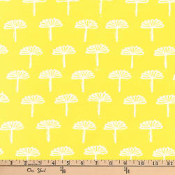 Kaufman Blueberry Park Trees Bright Idea Fabric