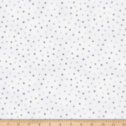Kaufman Lady Elizabeth Dots Grey Fabric