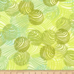 Kaufman Musings Circles Lime Fabric