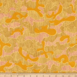 Kaufman Gleaned Puzzle Yarrow Fabric