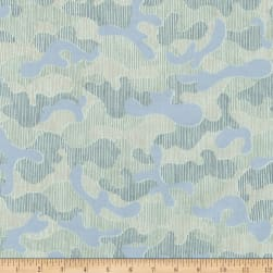 Kaufman Gleaned Puzzle Desert Green Fabric