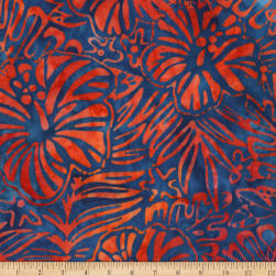 Kaufman Totally Tropical Hibiscus Primary Fabric