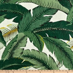 Tommy Bahama Home Linen Swaying Palms Aloe Fabric