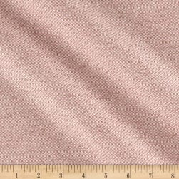 Fancy Waffle Basketweave Coating Pink/Beige Fabric