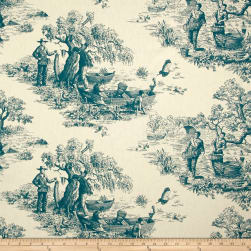 STOF France Riviere Petrole Fabric