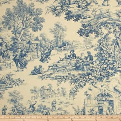 STOF France Festin Bleu Fabric