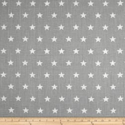STOF France Astre 100% Linen Gris Fabric