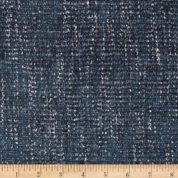 World Wide Cyrus Chenille Navy Fabric