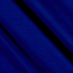 Double Brushed Solid Jersey Knit Royal