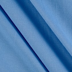Fabric Merchants Double Brushed Solid Jersey Knit Blue