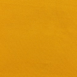 Double Brushed Solid Jersey Knit Mustard