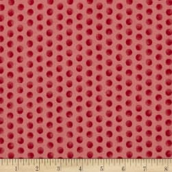Gingerbread Christmas Subtle Dots Pink Fabric