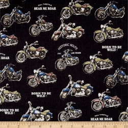 Cosmo Motorcycles Cotton Linen Blend Black