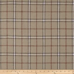 Stof Shabby Chic Linen Blend Large Plaid Red
