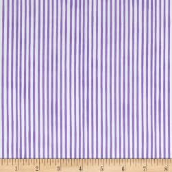 Loralie Designs Vintage Holiday Lazy Stripe Purple