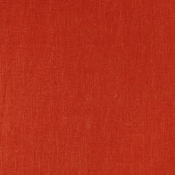 Covington Linen Blend Solid Firecracker Fabric