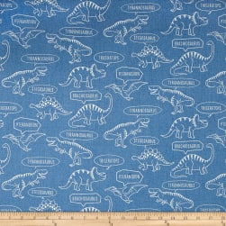 Kokka Trefle Ecole Big Dinosaur Oxford Blue