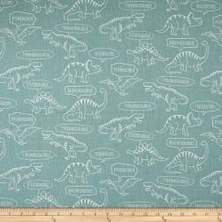 Kokka Trefle Ecole Big Dinosaur Oxford Mint