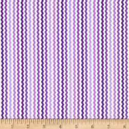 QT Fabrics Sorbet Essentials Rick Rac Purple Fabric