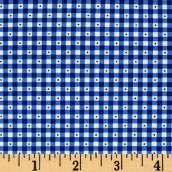 QT Fabrics Sorbet Essentials Gingham Navy Fabric