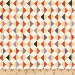 QT Fabrics Bellisima Diamond Geo Metallic Beige Fabric