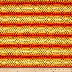 QT Fabrics House On The Hill Scallops Yellow/Orange