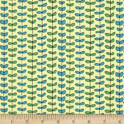 QT Fabrics House On The Hill Leaf Stripe
