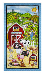 "Patchwork Farms Patchwork Farms 24"" Panel Multi"