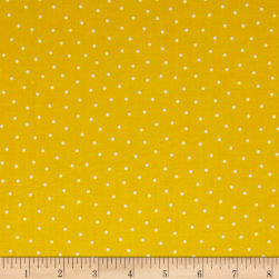 QT Fabrics Patchwork Farms Dots Sunflower Fabric