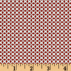 Patchwork Farms Geo Grid Red