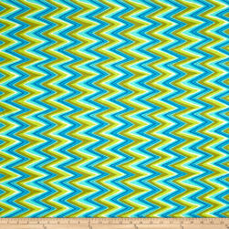 Ink & Arrow Hayden Chevron Olive Fabric