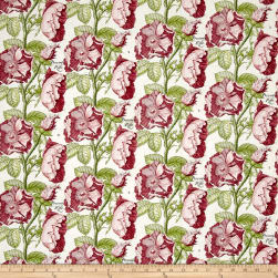 QT Fabrics Hatters Tea Party Antique Rose Antique