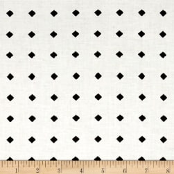 QT Fabrics Hatters Tea Party Diamond Dot Ecru