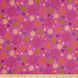 Ink & Arrow Ashtyn Dotted Circles Lt. Purple