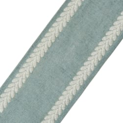 "French General 4.25"" Amelie Trim Chambray"