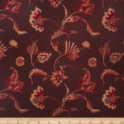 Collier Campbell Blair Jacquard Aubergine Fabric