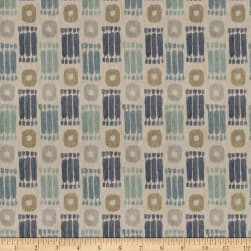 Fabricut Close Captioned Linen Blend Bluestone Fabric