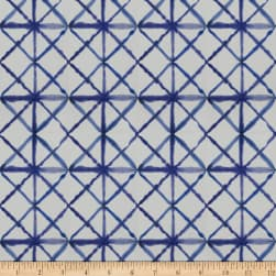 Fabricut Crane Diamond Indigo Fabric