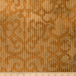 Fabricut Iliad Faux Silk Copper Fabric