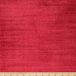 Fabricut Lexington Velvet Regal Red Fabric