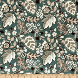 Fabricut Smooth Talk Teal Fabric