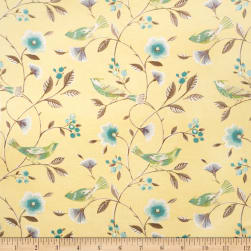 Collier Campbell The Singing Tree Linen Blend Lemon