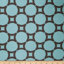 Trend 02480 Faux Silk Turquoise Fabric