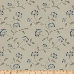 Trend 04254 Blue Silver Fabric