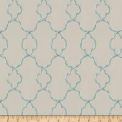 Trend 04258 Faux Silk Ivory Ocean Fabric