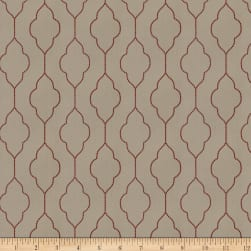 Trend 04259 Faux Silk Red Birch Fabric