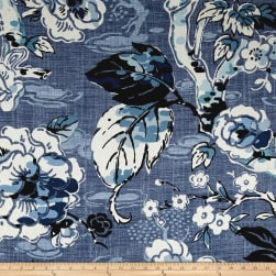 Braemore Allora 100% Linen Denim Fabric